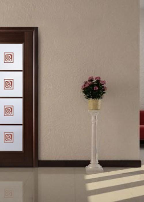 Модель Модерн Люкс  рис. 19 в цвете венге