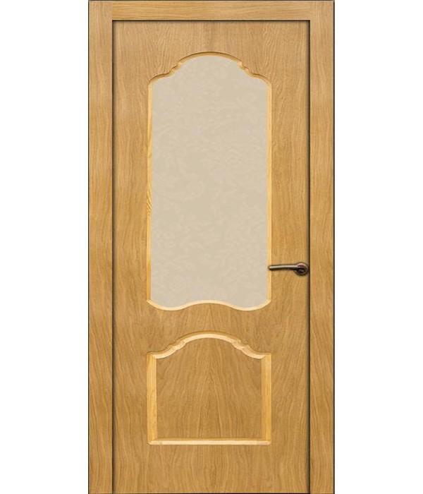 """Дверь - Межкомнатные двери """"Ольвия"""" дуб под стекло"""