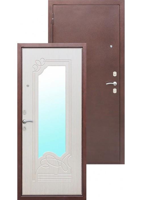 Входные двери  с МДФ панелью Ampir дуб беленый