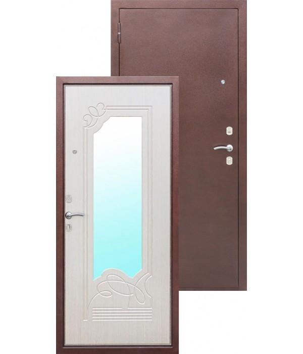 Дверь - Входные двери  с МДФ панелью Ampir дуб беленый