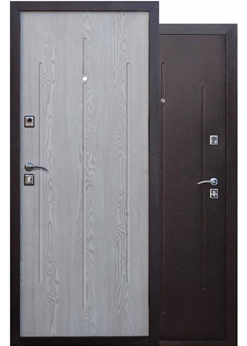 Входные двери  Манголия 3 петли капучино