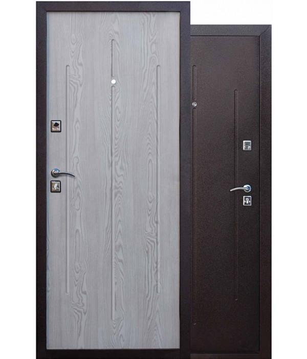 Дверь - Входные двери  Манголия 3 петли капучино