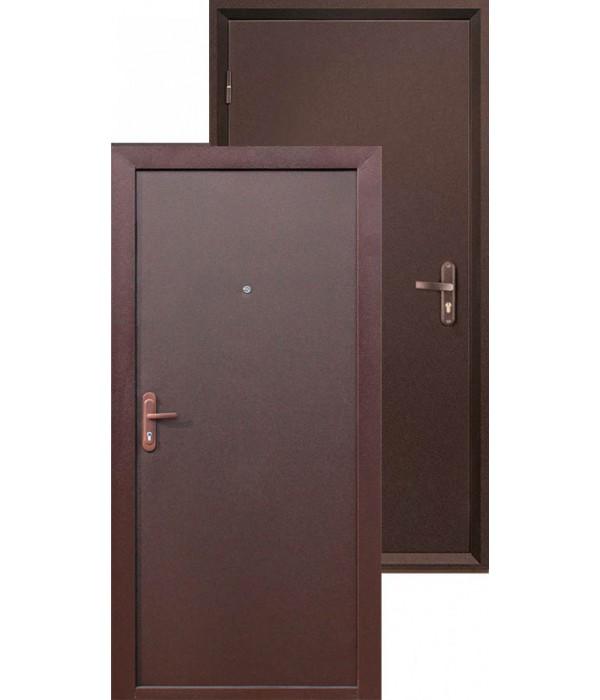 Дверь - Входные двери Строй Гост 5-1 металл/металл внут/открыв.