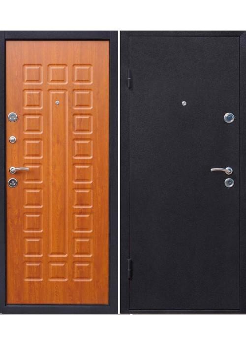 Входные двери Йошкар МДФ Золотисты й дуб+молоток
