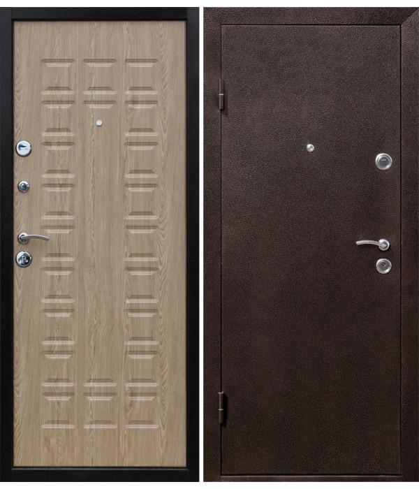 Дверь - Входные двери Йошкар МДФ Карпатская ель+молоток